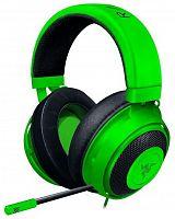 Наушники с микрофоном Razer Kraken Multi-Platform зеленый 1.3м накладные оголовье (RZ04-02830200-R3M1)