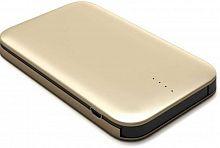 Мобильный аккумулятор Redline B8000 Li-Pol 8000mAh 2.4A золотистый 1xUSB (чехол в комплекте)