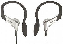 Наушники вкладыши Panasonic RP-HS6E-S 1.2м серебристый проводные крепление за ухом