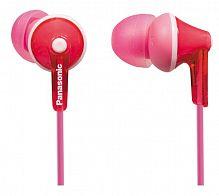 Наушники вкладыши Panasonic RP-HJE125E 1.1м розовый проводные (в ушной раковине)