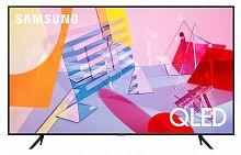 "Телевизор QLED Samsung 43"" QE43Q60TAUXRU Q черный/Ultra HD/50Hz/DVB-T2/DVB-C/DVB-S2/USB/WiFi/Smart TV (RUS)"