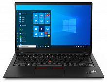"Ноутбук Lenovo ThinkPad X1 Carbon G8 T Core i7 10510U/16Gb/SSD512Gb/Intel UHD Graphics/14""/UHD (3840x2160)/4G/Windows 10 Professional 64/black/WiFi/BT/Cam"