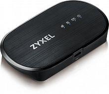Модем 2G/3G/4G Zyxel WAH7601-EU01V1F micro USB Wi-Fi Firewall +Router внешний черный