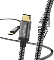Кабель Hama 00183287 USB Type-C (m) USB Type-C (m) 1.5м черный