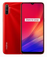 "Смартфон Realme C3 64Gb 3Gb красный моноблок 3G 4G 6.5"" 720x1600 Android 10 12Mpix WiFi GPS GSM900/1800 GSM1900 MP3 A-GPS max256Gb"