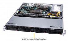 Платформа SuperMicro SYS-6019P-MT 1G 2P 1x500W