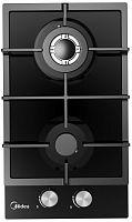 Газовая варочная поверхность Midea MG3260TGB черный