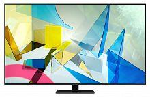 "Телевизор QLED Samsung 50"" QE50Q80TAUXRU Q черный/Ultra HD/50Hz/DVB-T2/DVB-C/DVB-S2/USB/WiFi/Smart TV (RUS)"