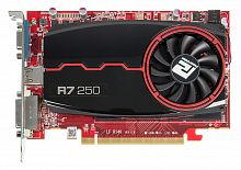 Видеокарта PowerColor PCI-E AXR7 250 2GBD3-DH AMD Radeon R7 250 2048Mb 128bit DDR3 800/1400 DVIx1/HDMIx1/CRTx1/HDCP Ret