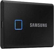 "Накопитель SSD Samsung USB-C 1Tb MU-PC1T0K/WW T7 Touch 1.8"" черный"
