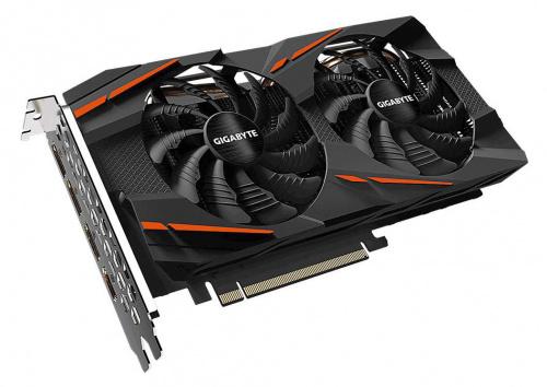 Видеокарта Gigabyte PCI-E GV-RX570GAMING-8GD V2.0 AMD Radeon RX 570 8192Mb 256 GDDR5 1244/7000/HDMIx1/DPx3/HDCP Ret