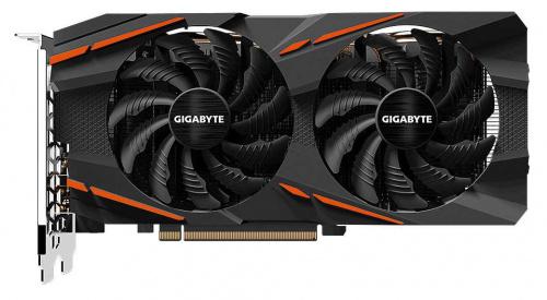 Видеокарта Gigabyte PCI-E GV-RX570GAMING-8GD V2.0 AMD Radeon RX 570 8192Mb 256 GDDR5 1244/7000/HDMIx1/DPx3/HDCP Ret  фото 2