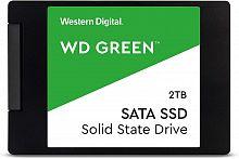"Накопитель SSD WD Original SATA III 2Tb WDS200T2G0A Green 2.5"""
