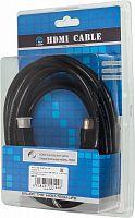 Кабель соединительный аудио-видео Ningbo HDMI-5M-MG HDMI (m)/HDMI (m) 5м. феррит.кольца Позолоченные контакты черный (HDMI-5M-MG(VER1.4)BL)