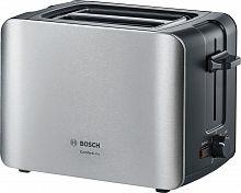 Тостер Bosch TAT6A913 1090Вт серебристый/черный