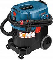 Строительный пылесос Bosch GAS 35 L SFC+ 1200Вт (уборка: сухая/влажная) синий