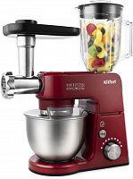 Кухонная машина Kitfort KT-1366-1 планетар.вращ. 1000Вт красный