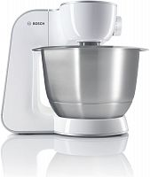 Кухонная машина Bosch MUM54230 планетар.вращ. 900Вт белый