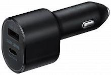 Автомобильное зар./устр. Samsung EP-L5300 3A+2A PD+QC универсальное кабель USB Type C черный (EP-L5300XBEGRU)