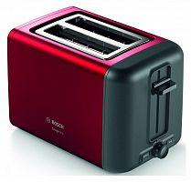 Тостер Bosch TAT3P424 970Вт красный/черный