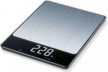 Весы кухонные электронные Beurer KS34 XL макс.вес:15кг нержавеющая сталь