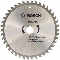 Диск пильный по алюм. Bosch ECO ALU (2608644388) d=160мм d(посад.)=20мм (циркулярные пилы)