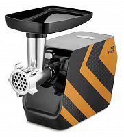 Мясорубка Kitfort КТ-2106-3 1200Вт черный/оранжевый