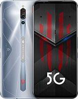 "Смартфон Nubia Red Magic 5S 128Gb 8Gb серебристый моноблок 3G 4G 2Sim 6.65"" 1080x2340 Android 10 64Mpix 802.11 a/b/g/n/ac/ax NFC GPS GSM900/1800 GSM1900 TouchSc Ptotect MP3 FM A-GPS"