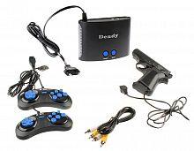 Игровая консоль Dendy черный +световой пистолет в комплекте: 300 игр