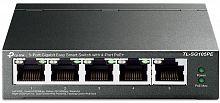 Коммутатор TP-Link TL-SG105PE 5G 4PoE+ 65W управляемый