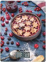 Весы кухонные электронные Scarlett SC-KS57P57 макс.вес:8кг рисунок