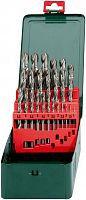 Набор сверл Metabo 627154000 по металлу (25пред.) для дрелей
