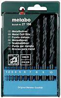 Набор сверл Metabo 627158000 по металлу (10пред.) для дрелей