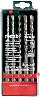 Набор буров Metabo 626243000 (5пред.) для дрелей/перфораторов