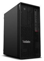 ПК Lenovo ThinkStation P340 MT i7 10700 (2.9) 8Gb SSD256Gb/P400 2Gb DVDRW Windows 10 Professional 64 GbitEth 300W клавиатура мышь черный