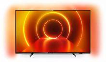 "Телевизор LED Philips 43"" 43PUS7805/60 черный/Ultra HD/50Hz/DVB-T/DVB-T2/DVB-C/DVB-S/DVB-S2/USB/WiFi/Smart TV (RUS)"