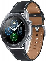 "Смарт-часы Samsung Galaxy Watch 3 45мм 1.4"" Super AMOLED серебристый (SM-R840NZSACIS)"