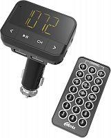 Автомобильный FM-модулятор Ritmix FMT-B200 черный MicroSD USB PDU (80000765)