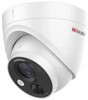 Камера видеонаблюдения Hikvision HiWatch DS-T213(B) 2.8-2.8мм HD-TVI корп.:белый