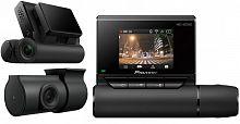 Видеорегистратор Pioneer VREC-DZ700DC черный 1080x1920 1080p 160гр. GPS карта в комплекте:16Gb