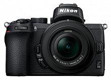 "Фотоаппарат Nikon Z50 черный 20.9Mpix 3.2"" 4K WiFi Nikkor Z DX 16-50 f/3.5-6.3 VR EN-EL25"