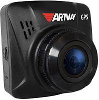 Видеорегистратор Artway AV-397 GPS Compact черный 12Mpix 1080x1920 1080p 170гр. GPS