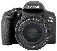 """Зеркальный Фотоаппарат Canon EOS 850D черный 24.1Mpix EF-S 18-135mm f/3.5-5.6 IS USM 3"""" 4K 4K SDXC Li-ion"""