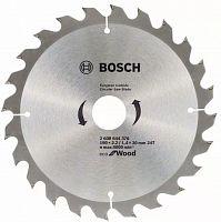 Диск пильный по дер. Bosch ECO WO (2608644376) d=190мм d(посад.)=30мм (циркулярные пилы)