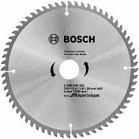 Диск пильный по алюм. Bosch ECO ALU (2608644391) d=210мм d(посад.)=30мм (циркулярные пилы)