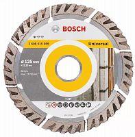 Диск алмазный по бет. Bosch Stf Universal (2608615059) d=125мм d(посад.)=22.23мм (угловые шлифмашины)