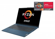 """Ноутбук Lenovo IdeaPad 5 15ARE05 Ryzen 3 4300U/8Gb/SSD256Gb/AMD Radeon/15.6""""/IPS/FHD (1920x1080)/noOS/blue/WiFi/BT/Cam"""