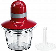 Измельчитель электрический Bosch MMR08R2 0.8л. 400Вт красный
