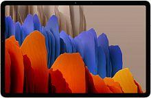 "Планшет Samsung Galaxy Tab S7 SM-T875 Snapdragon 865 Plus (3.1) 8C/RAM6Gb/ROM128Gb 11"" WQXGA 2560x1600/3G/4G/Android 10.0/золотистый/13Mpix/8Mpix/BT/GPS/WiFi/Touch/microSD 1Tb/8000mAh"