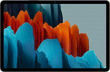 "Планшет Samsung Galaxy Tab S7 SM-T870 Snapdragon 865 Plus (3.1) 8C/RAM6Gb/ROM128Gb 11"" WQXGA 2560x1600/Android 10.0/черный/13Mpix/8Mpix/BT/WiFi/Touch/microSD 1Tb/8000mAh"